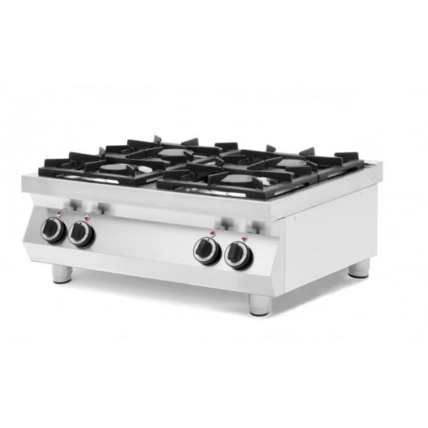 Table de cuisson à gaz Kitchen Line - 4 feux