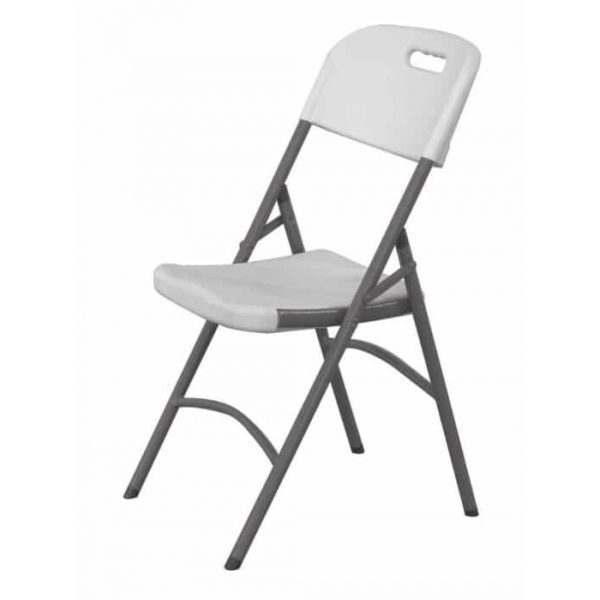 Chaise traiteur -  gris clair