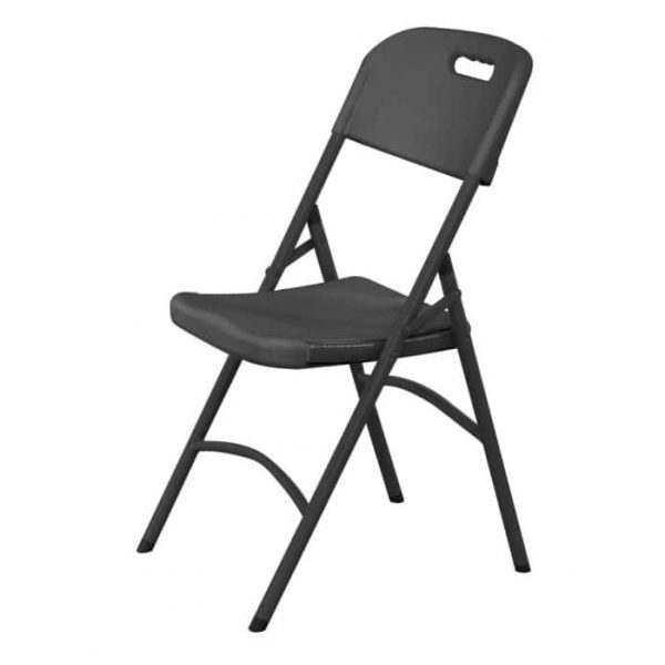 Chaise traiteur -  noir