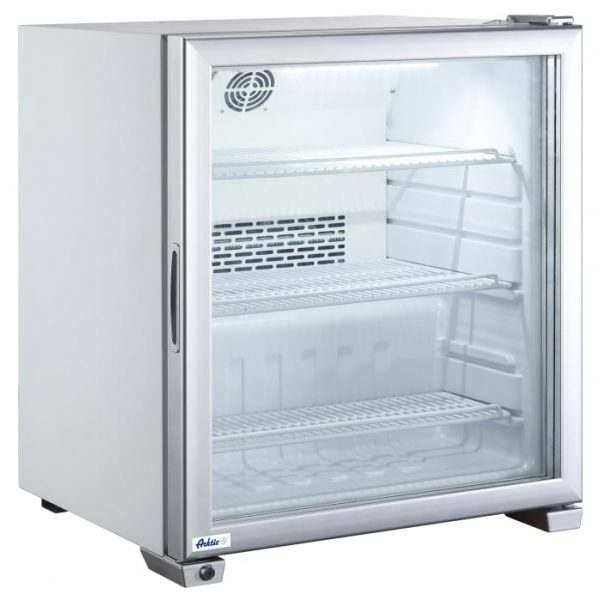 Vitrine de table réfrigérée négatif 90L