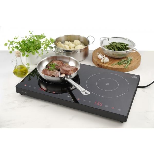 Plaque de cuisson à induction double Black Line