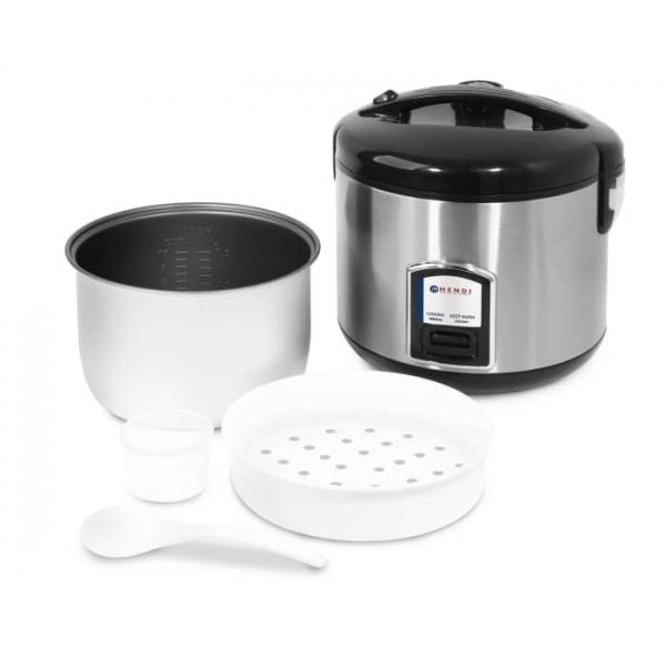 Cuiseur à riz avec fonction cuisson vapeur