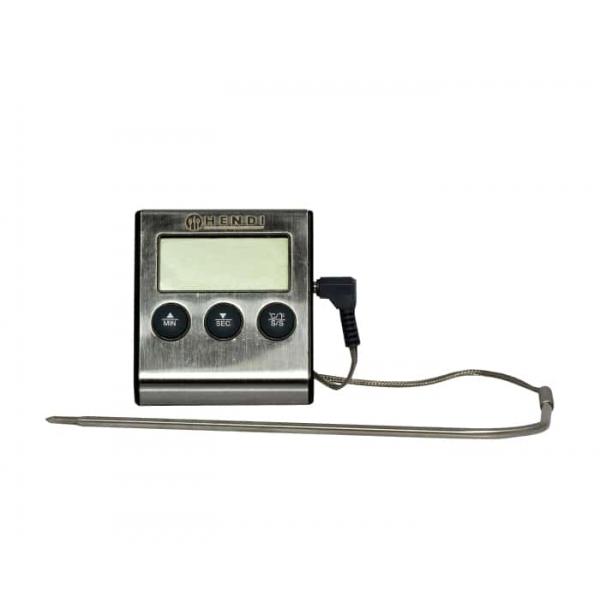 Thermomètre/minuteur pour rôtir