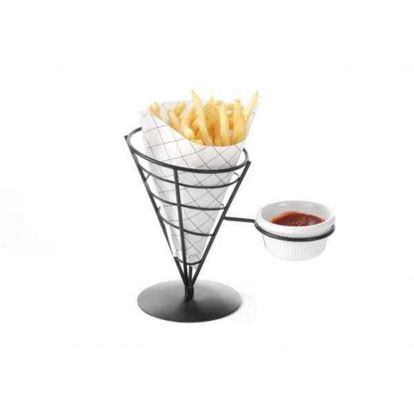 Support pour cornet de frites