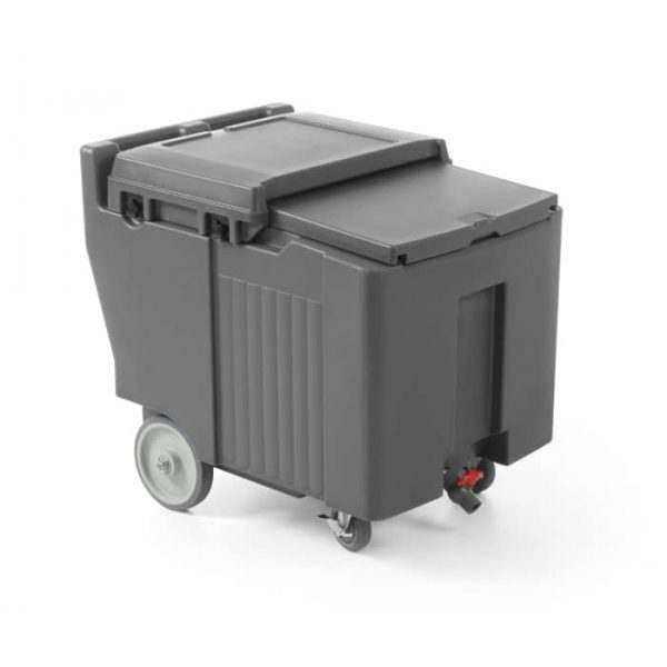 Conteneur isolé à glace - 110 L